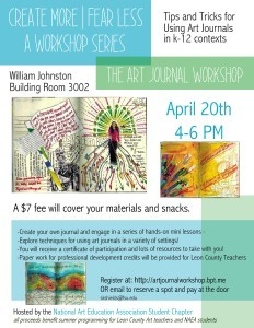 naea workshop flyer