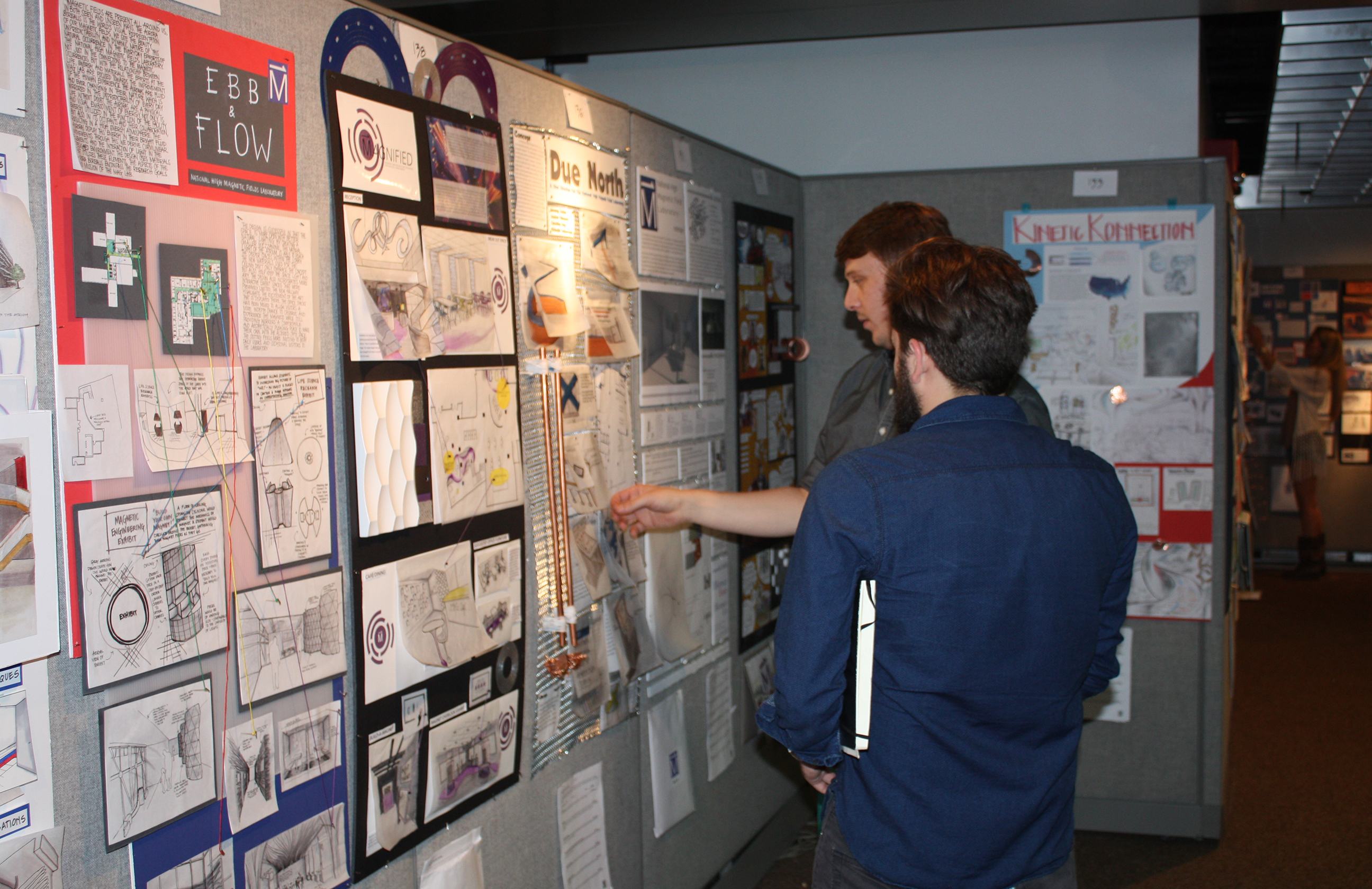 Interior Design Department Partners with the College of Music in Design Charrette