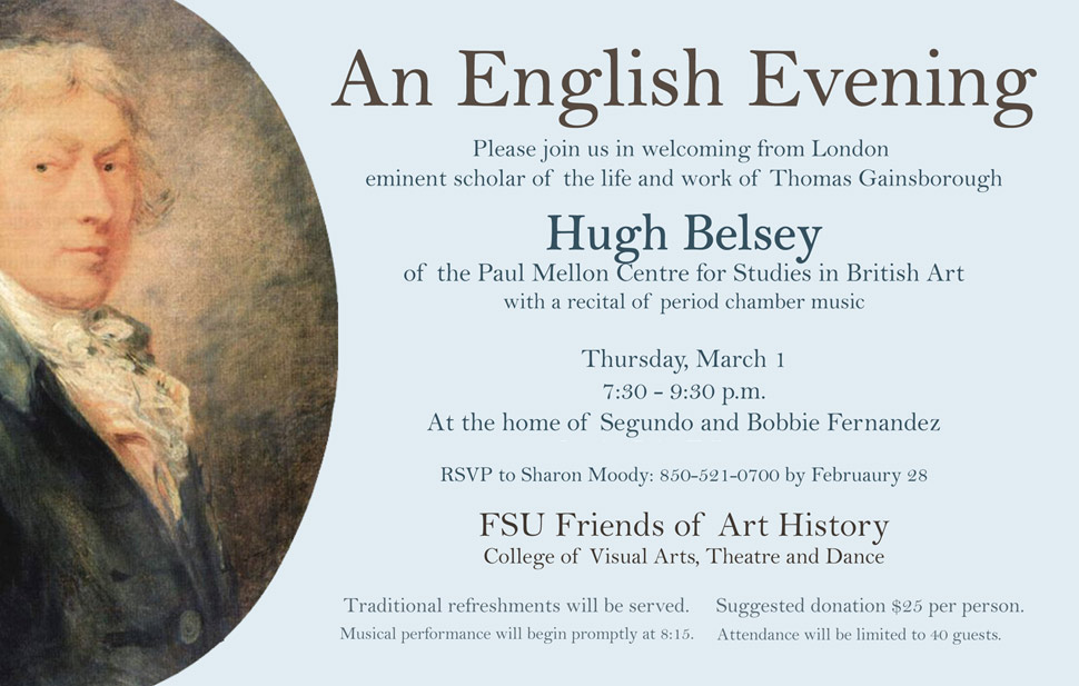 An English Evening with Hugh Belsey