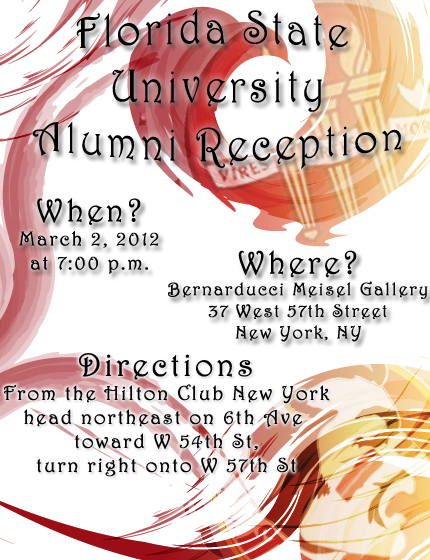 Alumni Reception in New York