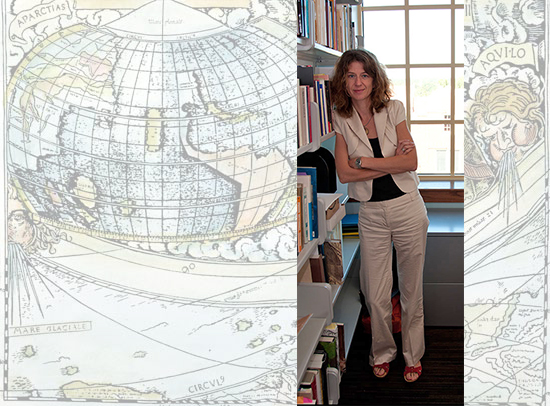 Stephanie Leitch presents at Cultural History of Cartography Symposium