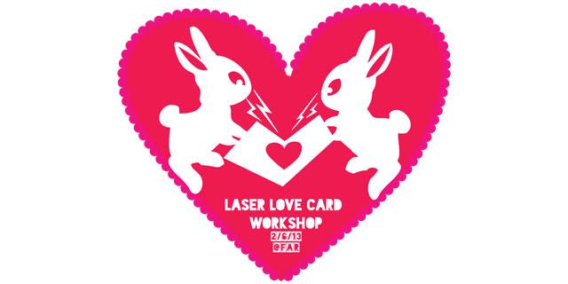 laser Love Banner