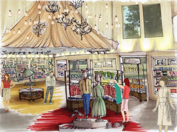 FSU College of Fine Arts Interior Design Studio Envisions New