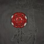 """""""Cycloptic Stifler"""" sculpture/ drawing"""