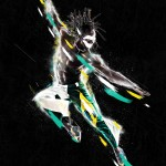 """""""Envy"""" Digital image of a Man jumping in the air"""
