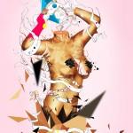 """Lust"" digital image of a woman"