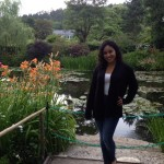 Valerie DeLeon at Giverny