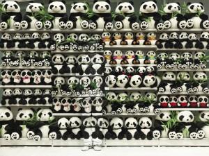 2009 Hiding in the City Panda Liu Bolin