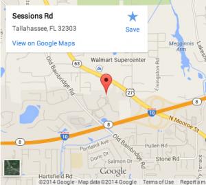 Location Map of Florida State University's Small Craft Advisory Press