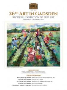 26th Art in Gadsden poster