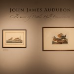Shot of two photographs with the title of the exhibition