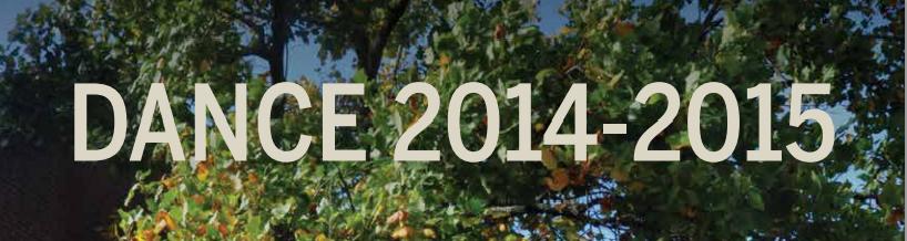 dance 2014 2015