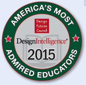 America's Most Admired Educator's Interior Design Seal