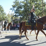 FSU Homecoming Parade, Sheriff's on horseback