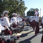 FSU Homecoming Parade, Marching Chiefs Crazy 8