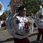 FSU Homecoming Parade, Marching Chiefs Royal Flush