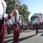 FSU Homecoming Parade, Marching Chiefs clarinets