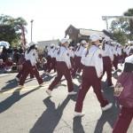 FSU Homecoming Parade, Marching Chiefs flutes