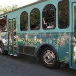 FSU Homecoming Parade, 50th reunion bus class of 1964