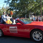 FSU Homecoming Parade, Maggie Alleseee