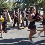FSU Homecoming Parade, cheerleaders