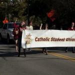 FSU Homecoming Parade, catholic student union