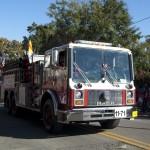 FSU Homecoming Parade, firetruck