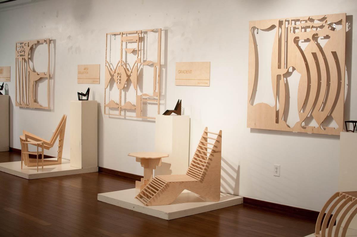 FSU College of Fine Arts Interior Design Gallery Opening Ply on