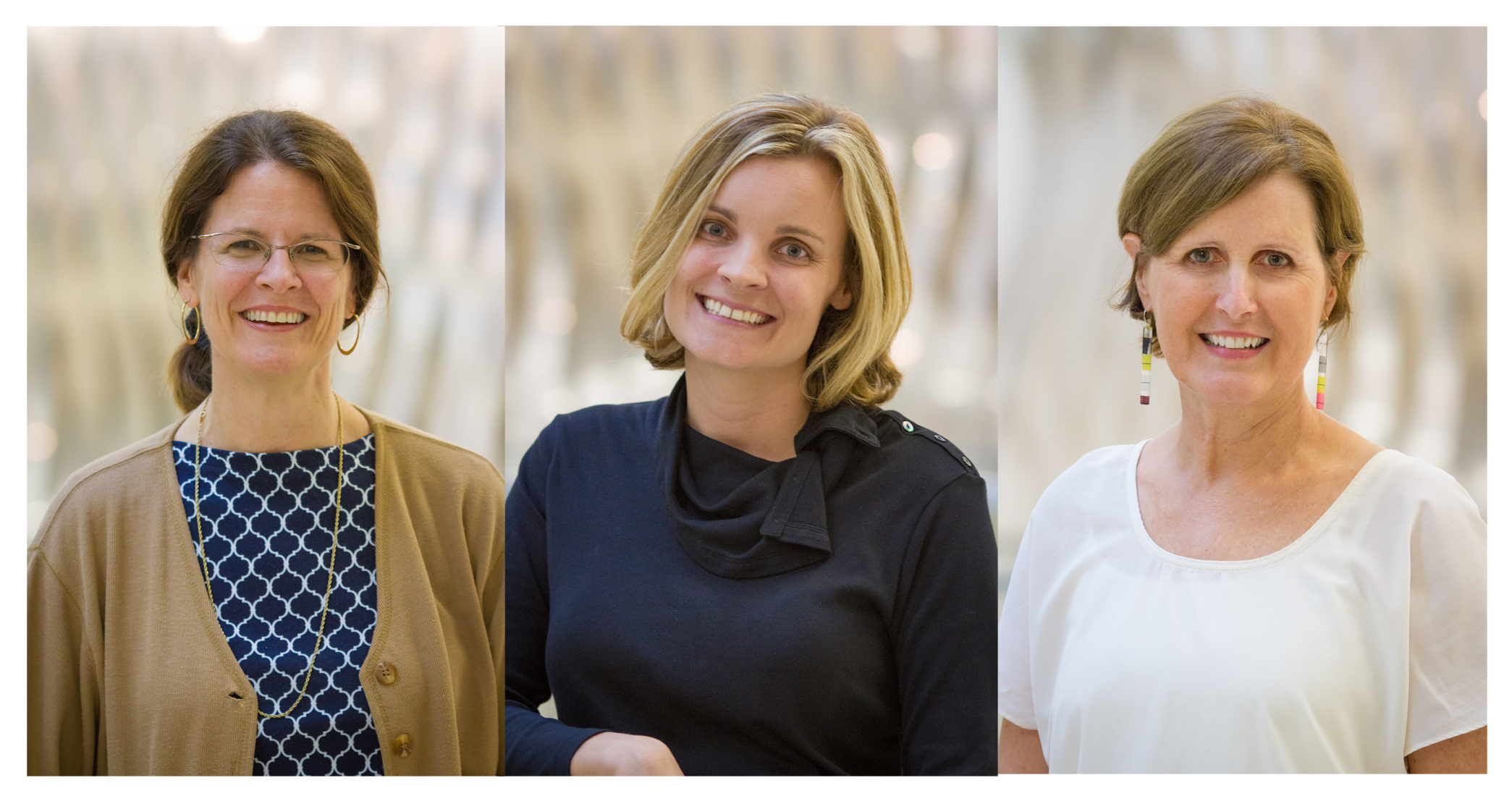From left to right: Jill Pable, Amy Huber, Lisa Waxman