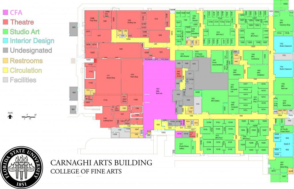 FSU College of Fine Arts  Carnaghi Arts Building CAB