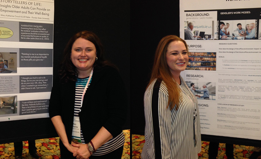 Interior Design Faculty and Students Attend IDEC