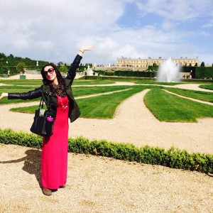Sarah Wilcoxin at Versailles