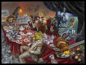 Carrie-Ann-Baade-Bad-Government-from-Allegory-of-Good-and-Bad-Government-2015-oil-on-linen-36-x-48-inches