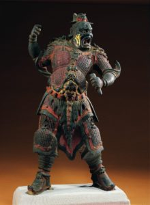 Gilded bronze statue of a Daoist deity