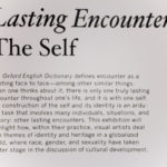 Lasting Encounters: The Self