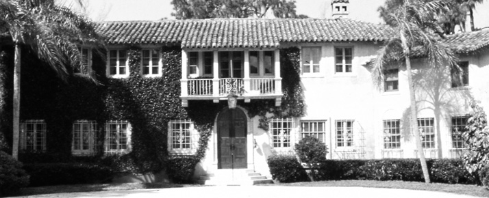 Ralph Caples' home, courtesy of New College of Florida