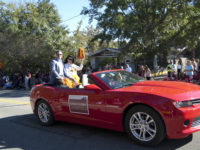 Maggie Allesee in the 2014 FSU Homecoming Parade