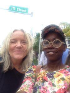 Terri Lindbloom and Sharon Norwood