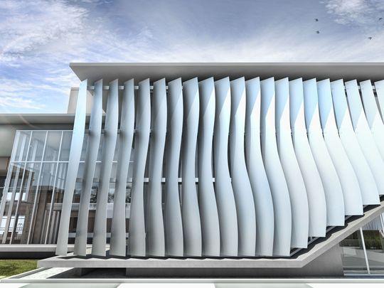 Ringling Glass Pavilion design