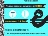 Spring 2016 Dep of Art Student Awards