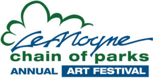 Lemoyne Chain of Parks Art Festival logo