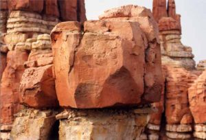 Rockwork from Big Thunder Mountain, Disneyland Paris. Photo courtesy of hormayco.com