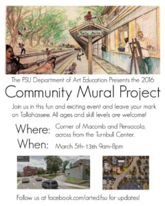 mural project flyer