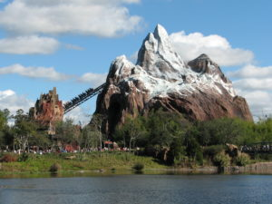 Character plaster at Expedition Everest of Disney's Animal Kingdom