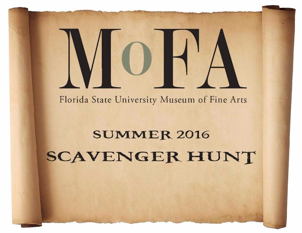 MoFA Summer 2016 Scavenger Hunt