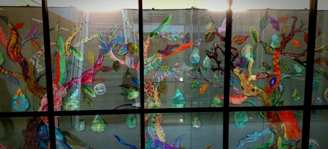 Department of Art Education Presents Gina Phillips Artist Reception and Workshop Recap