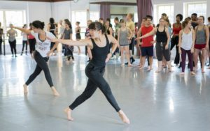 School of Dance's Undergraduate Class