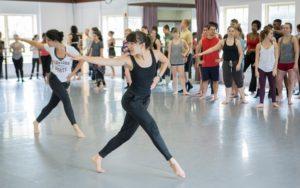 School of Dance's Undergraduate Class
