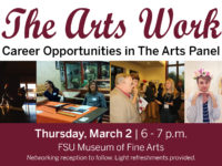 the arts work flyer