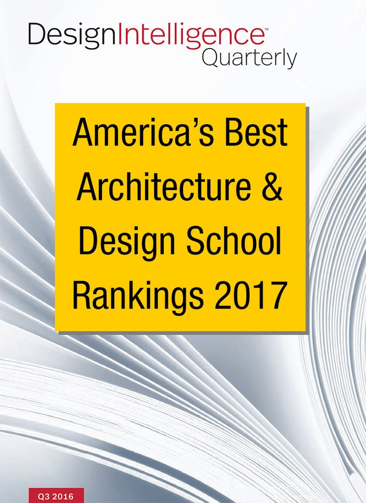 design intelligence ranking